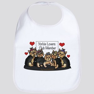 Yorkie Lovers Club Member Bib