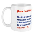 Mug: First video recording on magnetic tape was ma
