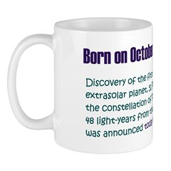 Mug: Discovery of the first extrasolar planet, 51
