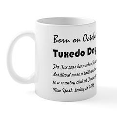 Mug: Tuxedo Day Tux was born when Griswold Lorilla