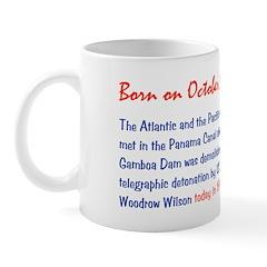 Mug: Atlantic and Pacific oceans met in Panama Can
