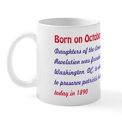 Mug: Daughters of the American Revolution was foun