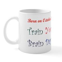 Mug: Train Your Brain Day
