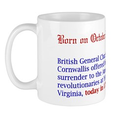 Mug: British General Charles Cornwallis offered hi