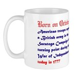 Mug: American troops captured a British army in Sa