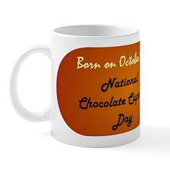 Mug: Chocolate Cupcake Day