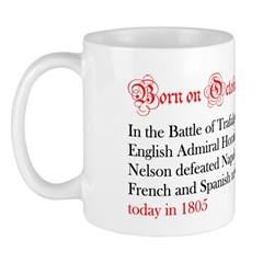 Mug: In the Battle of Trafalgar, English Admiral H