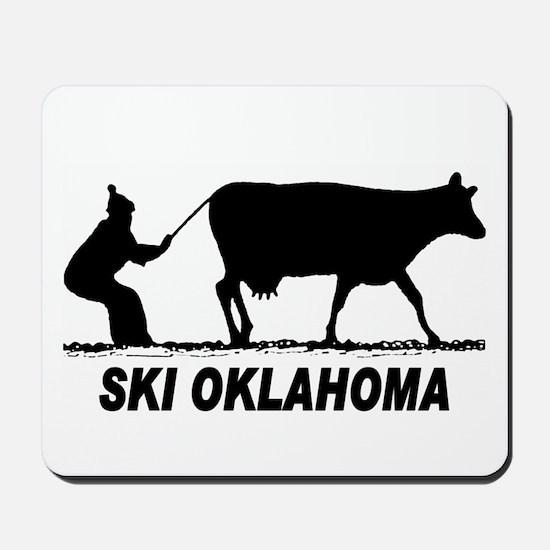 The Ski Oklahoma Shop Mousepad