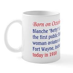 Mug: Blanche