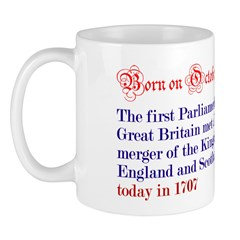 Mug: First Parliament of Great Britain met after t
