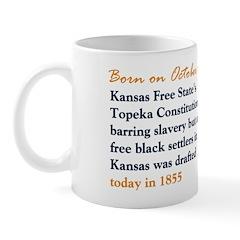 Mug: Kansas Free State's Topeka Constitution barri