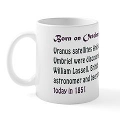 Mug: Uranus satellites Ariel and Umbriel were disc