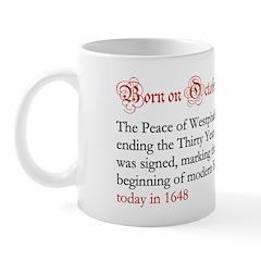 Mug: Peace of Westphalia ending the Thirty Years'