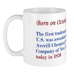 Mug: First trademark in the U.S. was awarded to th