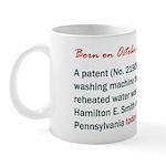 Mug: A patent (# 21909) for a washing machine that