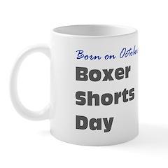 Mug: Boxer Shorts Day