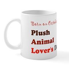 Mug: Plush Animal Lover's Day