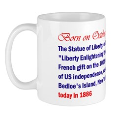 Mug: Statue of Liberty, a French gift on 100th ann