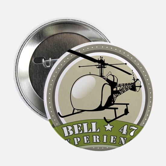 "Bell 47 Experience - Melbourne | Logo 2.25"" Button"