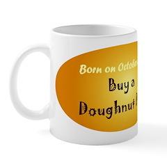 Mug: Buy a Doughnut Day