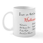 Mug: Halloween Hallowe'en All-hallow-even All Sain