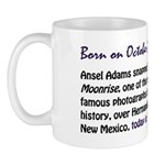 Mug: Ansel Adams snapped Moonrise, one of the most