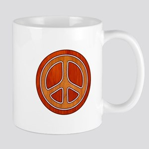 Inlaid Peace Mug