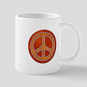 Inlaid Peace Mug