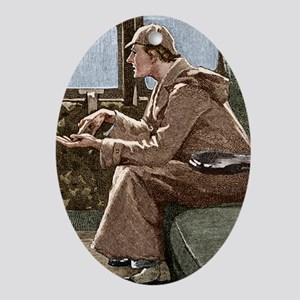 Sherlock Holmes - Oval Ornament