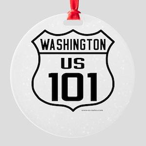 US Route 101 - Washington - Ornament