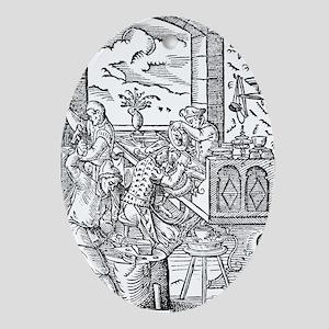artwork - Oval Ornament