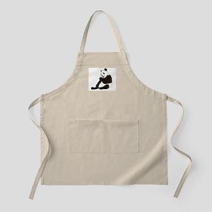 PANDA BEAR WITH A LOLLY POP BBQ Apron