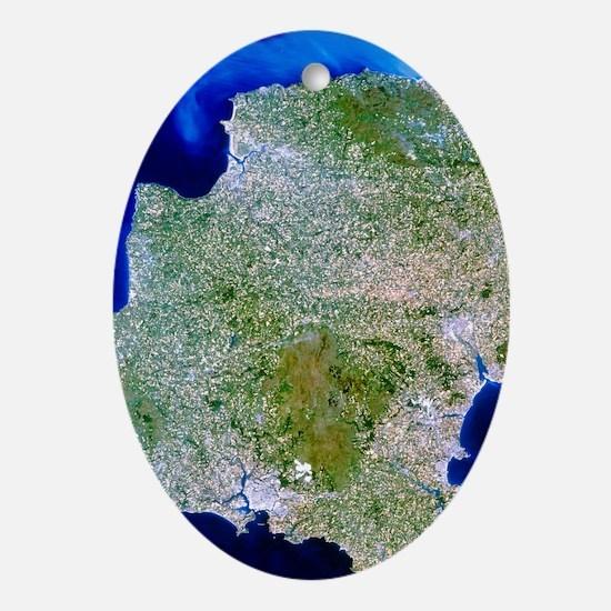 thwest England - Oval Ornament