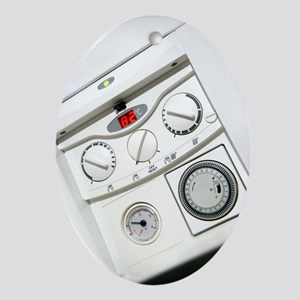 Domestic boiler controls - Oval Ornament