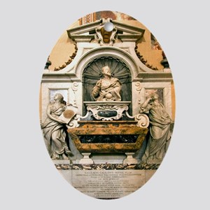 Galileo's tomb, Florence, Italy - Oval Ornament