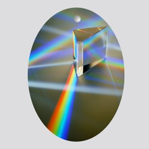 Refraction - Oval Ornament
