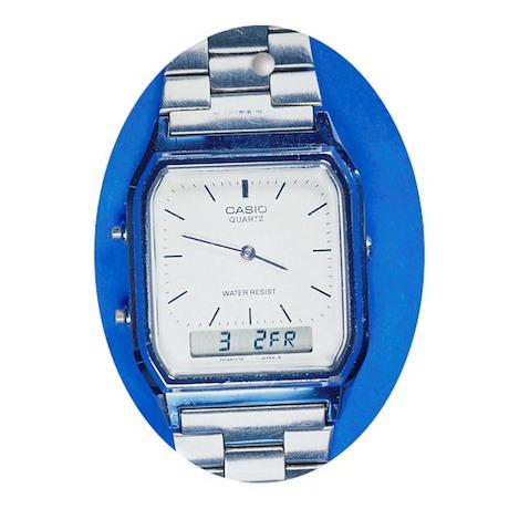 Wristwatch - Oval Ornament