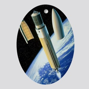 oying a payload - Oval Ornament