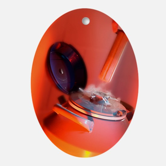 Sperm bank - Oval Ornament