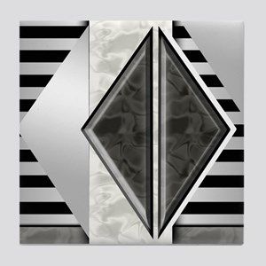 Art Deco: Retro Darade | Tile Coaster