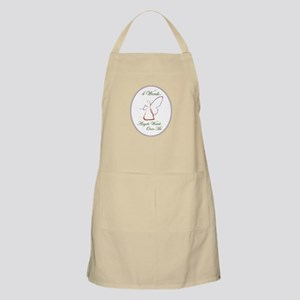4 Words - Angels Watch Over me - All Cancers Apron
