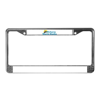 cafepressomglogo License Plate Frame