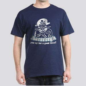 Arrrrgh Funny Pirate Dark T-Shirt
