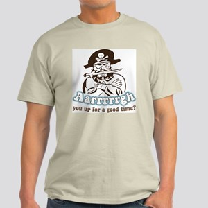 Arrrrgh Funny Pirate Light T-Shirt