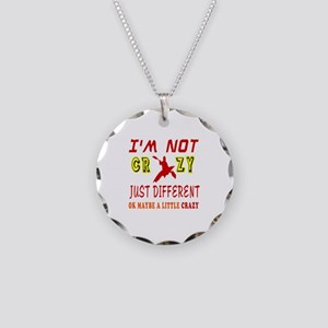 I'm not Crazy just different Kayaking Necklace Cir