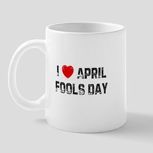 I * April Fools Day Mug
