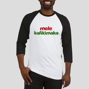 Mele Kalikimaka - Hawaii Baseball Jersey