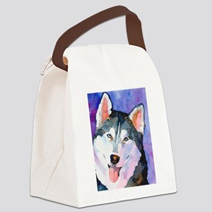 Husky #1 Canvas Lunch Bag