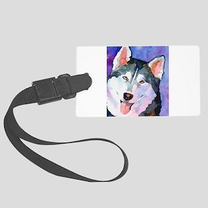 Husky #1 Luggage Tag