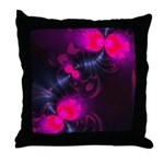 Rose Flower Fairy Throw Pillow